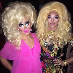 Trixie Mattel and Trannika Rex
