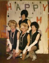 Front Row: Candy James, Donna Drag and Toni Taylor   Back Row: Claire Sheradin