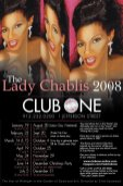 Show Ad | The Lady Chablis | Club One (Savannah, Georgia) | 2008