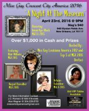 Show Ad | Miss Gay Crescent City America | Mag's 940 (New Orleans, Louisiana) | 4/23/2016