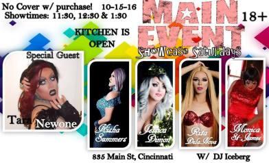 Show Ad   Main Event (Cincinnati, Ohio)   10/15/2016
