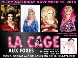 Show Ad | Grey Fox Pub (St. Louis, Missouri) | 11/12/2016