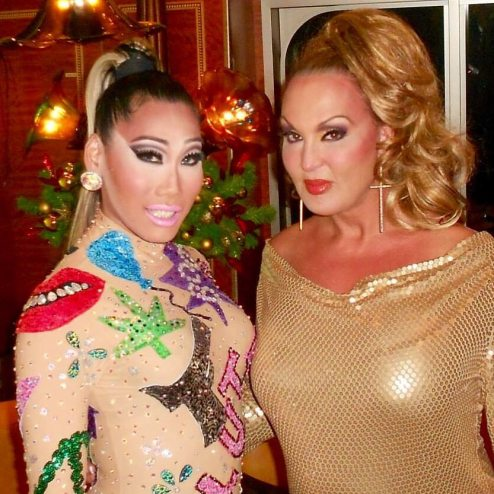 Gia Gunn and Jennifer Warner