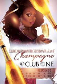 Show Ad | Club One (Savannah, Georgia) | May 19-21, 2016