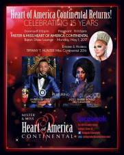 Show Ad   Mr. and Miss Heart of America Continental   Baton Show Lounge (Chicago, Illinois)   5/1/2017