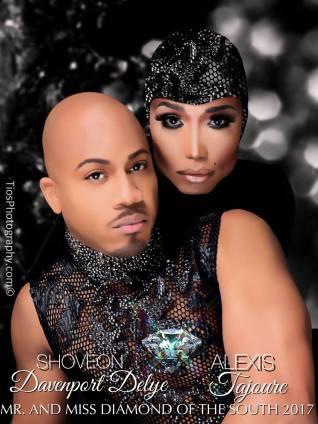 Shoveon Davenport Delye and Alexis Tajoure - Photo by Tios Photography