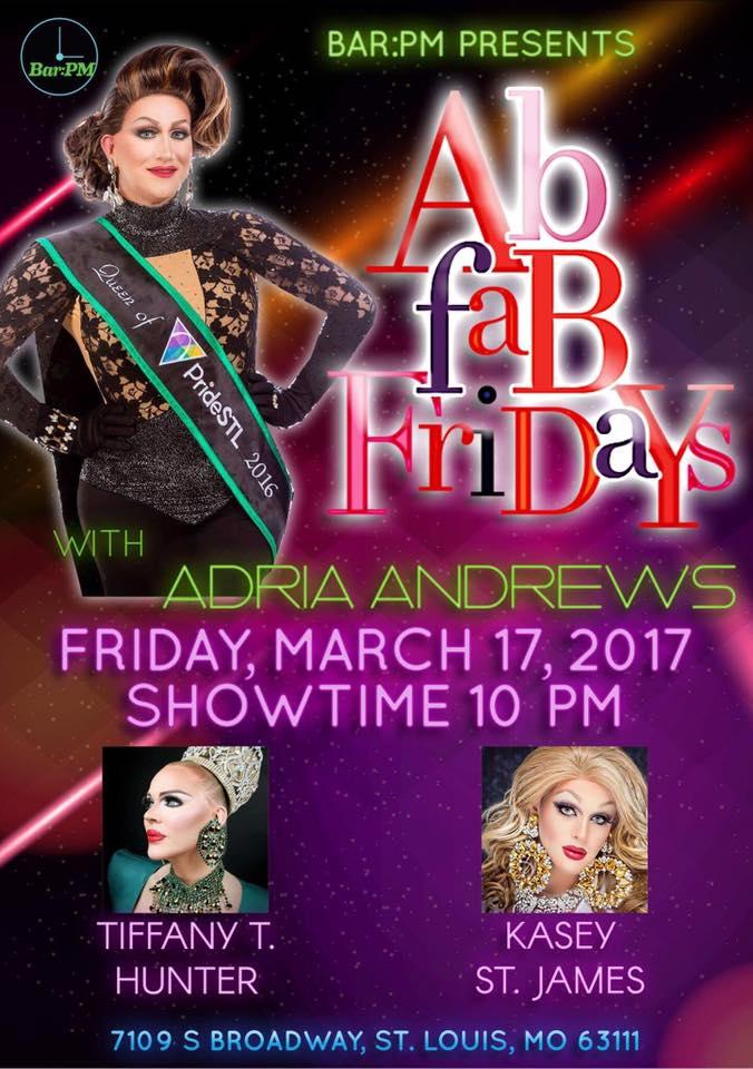 Show Ad | Bar PM (St. Louis, Missouri) | 3/17/2017