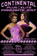 Show Ad | Miss Continental Elite and Plus | The Baton Show Lounge (Chicago, Illinois) | 4/16-4/18/2017