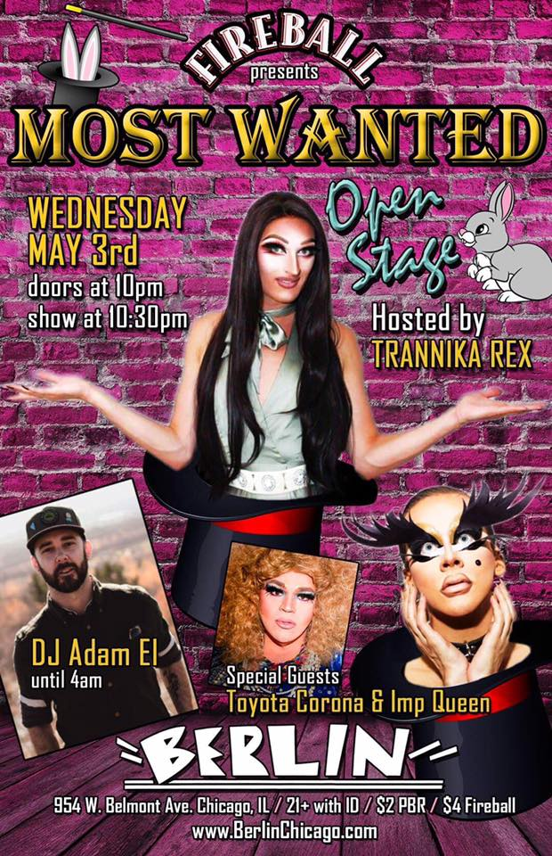 Show Ad   Berlin (Chicago, Illinois)   5/3/2017