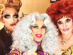 Bianca Del Rio, Charlie Hides and Jackie Beat