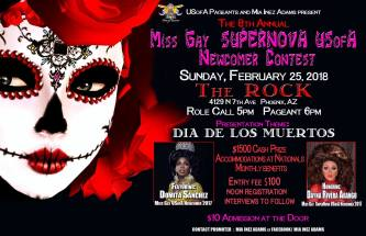 Show Ad | Miss Gay Supernova USofA Newcomer | The Rock (Phoenix, Arizona) | 2/25/2018
