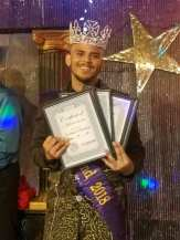 Adonis Vayne shortly after being crowned Mr. Southbend 2018 at Southbend Tavern in Columbus, Ohio on the evening of March 25th, 2018.