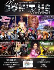 Show Ad   Miss Don't H8 Newcomer   The Loft (Gastonia, North Carolina)   9/9/2017