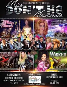 Show Ad | Miss Don't H8 Newcomer | The Loft (Gastonia, North Carolina) | 9/9/2017