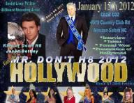 Show Ad | Mr. Don't H8 | Club CO2 (Winston-Salem, NC) | 1/15/2012