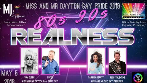 Show Ad | Miss Dayton Gay Pride and Mr. Dayton Gay Pride | MJ's on Jefferson (Dayton, Ohio) | 5/5/2018