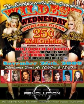 Show Ad | Revolution Nightclub (Orlando, Florida) | 11/25/2009