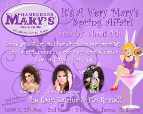 Show Ad | Hamburger Mary's (Ybor City, Florida) | 4/4/2010
