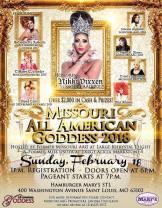 Show Ad   Missouri All American Goddess   Hamburger Mary's (St. Louis, Missouri)   2/18/2018