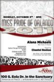 Show Ad | Miss Pride of Orlando | The Abbey (Orlando, Florida) | 10/3/2017