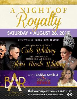 Show Ad | The Bar Complex (Lexington, Kentucky) | 8/26/2017