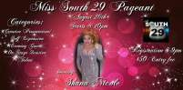 Show Ad | Miss South 29 | South 29 (Spartanburg, South Carolina) | 8/26/2016