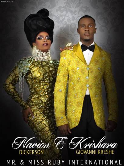 Krishara Giovanni Kreshe and Navion Dickerson - Photo by Tone Roc Edits