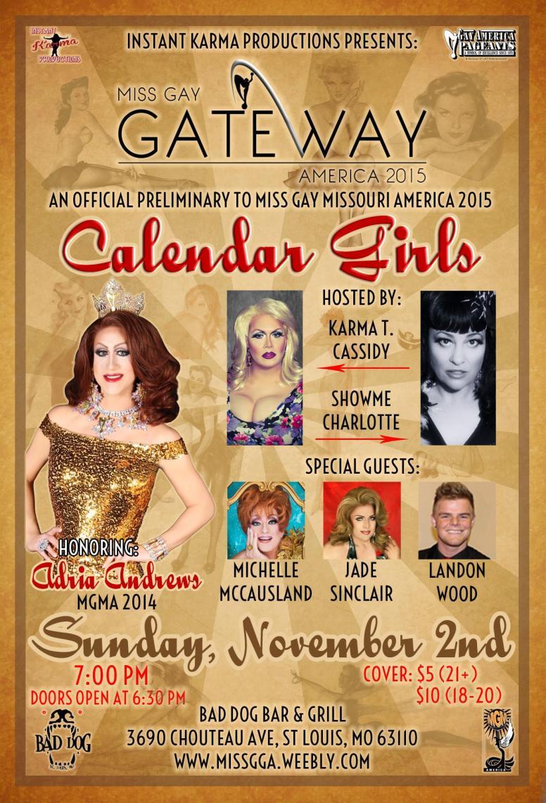 Show Ad   Miss Gay Gateway America   Bad Dog Bar & Grill (St. Louis, Missouri)   11/2/2014