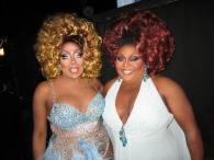 Tanisha Cassadine and Tajma Hall