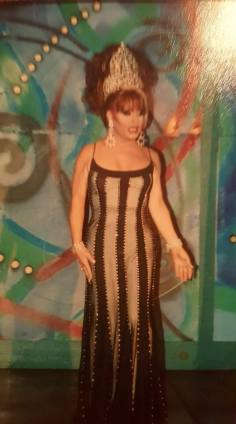 Shana Nicole as Miss Club Cabaret 2000