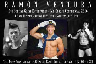 Show Ad | The Baton Show Lounge (Chicago, Illinois) | 7/9/2016 and 7/15-7/16/2016