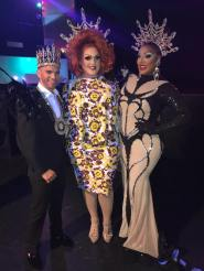 Aries M. Kelly, Crystal Belle and Alexis Mateo