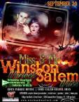 Show Ad | Miss Salem Witch and Mr. Winston Warlock | Village Inn (Clemmons, North Carolina) | 9/24/2017
