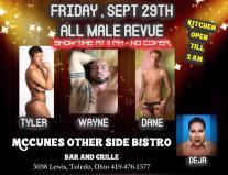 Show Ad | McCunes Other Side Bistro (Toledo, Ohio) | 9/29/2017