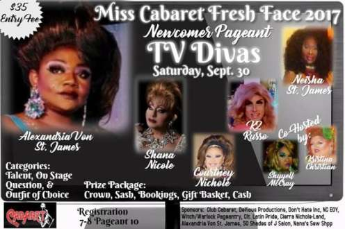 Show Ad | Miss Cabaret Fresh Face | Club Cabaret (Hickory, North Carolina) | 9/30/2017