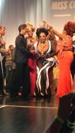 Whitney Paige being crowned Miss Continental Plus