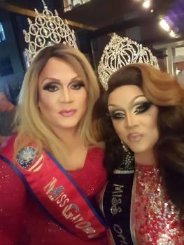 Misty Phoenix St. James and Reianna Ali