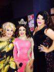 Misty Phoenix St. James, Mary Nolan and Ava Aurora Foxx