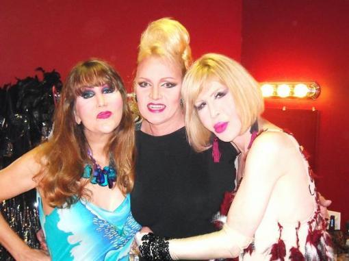 Bobbie Lake, Dana Douglas and Gilda Golden