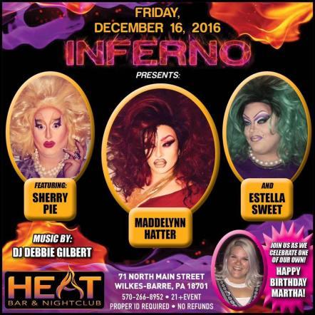 Show Ad | Heat Bar & Nightclub (Wilkes-Barre, Pennsylvania) | 12/16/2016