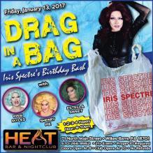 Show Ad | Heat Bar & Nightclub (Wilkes-Barre, Pennsylvania) | 1/13/2017