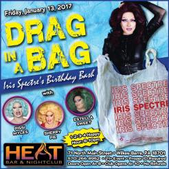 Show Ad | Heat Bar & Nightclub (Wilkes-Barre, Pennsylvania) | 1/13/2017
