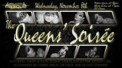 Show Ad | The Queens' Soirée | Masque (Dayton, Ohio) | 11/8/2017