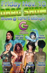 Show Ad | Garden Nightclub (Des Moines, Iowa) | 11/10/2017