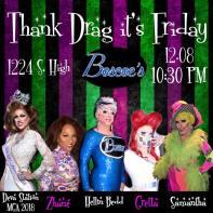 Show Ad   Thank Drag It's Friday   Boscoe's (Columbus, Ohio)   12/8/2017