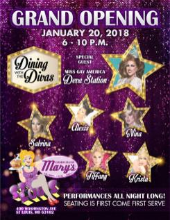 Show Ad | Hamburger Mary's (St. Louis, Missouri) | 1/20/2018