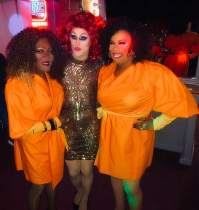 Georgia Jackson, Soy Queen and Vee Love