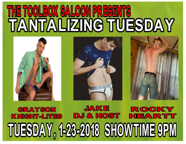 Show Ad   Toolbox Saloon (Columbus, Ohio)   1/23/2018