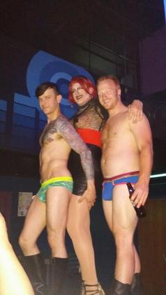 Johnny Dangerously, Veronica Skyy and Ryan Dreamsicle