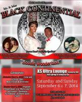 Show Ad | Miss Black Continental and Mr. Black Continental | 9/6-9/7/2014